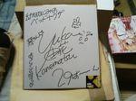 由花さんのサイン